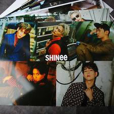 K-POP SHINee TAEMIN KEY 12 Posters Collection 12PCS Bromide + A3 Shinee Sticker