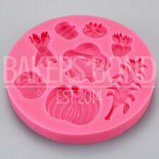 Autumn Harvest Crops Silicone Mould Vegetables Food Cake Topper Bakeware Baking