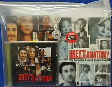 GREY'S ANATOMY 1st & 2nd SEASON DVDs with SOUND TRACKS (Rare Collectible)