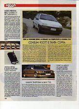 W18 Ritaglio Clipping 1991 BMW 735i Hamann tuning elaborazione