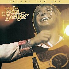 JOHN DENVER : AN EVENING WITH (2 disc deluxe edition)  (CD) Sealed