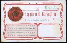 1905 - 9 Reggimento Bersaglieri - Ricordo del