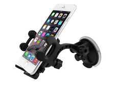 Car Windshield Short Neck Mount Cell Phone Holder for Apple iPhone 7 Plus 6 Kit