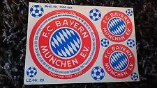 FC Bayern München - Emblem - Aufkleber - Rarität von 1990