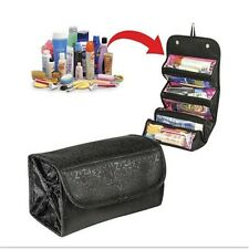 Hot Travel Toiletry Wash Cosmetic Bag Makeup Storage Case Hanging Zipper Bags LG