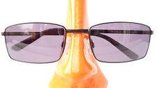 Marken Sonnenbrille Rodenstock Damen Herren Metall eckig schwarz Metall Gr L