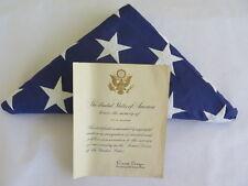President Ronald Reagan Military Honors Memory Certificate WWI Veteran