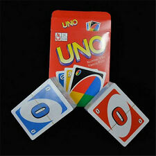Standard UNO Playing Cards Travel 108Pcs Fun Game Desktop games