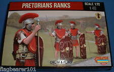 STRELETS SET M 108. PRETORIAN RANKS. 1/72 SCALE. 40 UNPAINTED FIGURES.