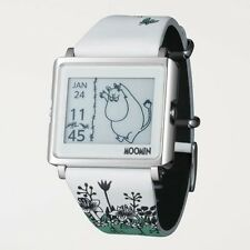 "New EPSON Smart Canvas WOW matrix EPD Digital Watch ""MOOMIN"" from Japan F/S EMS"
