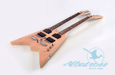 DIY Mahogany BoltOn Double Neck 12 String and Electric Guitar Kit Albatross G064