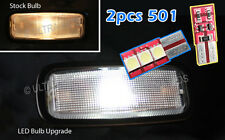 1 SIDED LED SMD INTERIOR DOOR FOOTWELL PUDDLE LIGHTS WHITE BMW E90 91 X5 X6 93