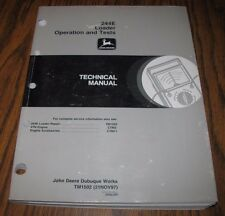 *John Deere 244E Wheel Loader Operation &Test Technical Manual  TM1502  jd  1997