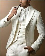 The groom's suit embroidery wedding dress suit the groom's best man  F001