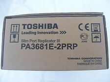 NUOVO TOSHIBA Docking Station REPLICATORE + PSU pa3681e-2prp