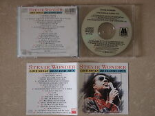STEVIE WONDER - LOVE SONGS 20 CLASSIC HITS (JAPAN) CD