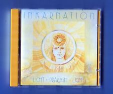 Inkarnation  cd  LICHT PRAKASH LIGHT ©1987 - # SKV 022 CD - new age electronic