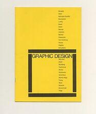 1983 Arthur + Elaine Lustig Cohen EX LIBRIS Rare GRAPHIC DESIGN Book catalog
