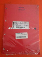 Libretto Manuale Aggiornamento Ducati ST4 S Abs - Cod 91470441L