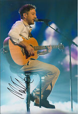 Matt CARDLE The X Factor Winner SIGNED Autograph 12x8 Photo AFTAL COA