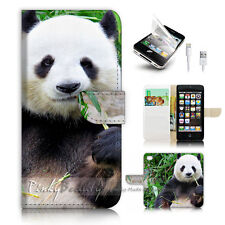iPhone 5 5S Flip Wallet Case Cover! P2073 Panda