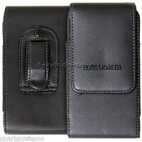 Universal Belt Pouch Holster Holder Clip Loop Case Mobile Phone PDA Cover Black