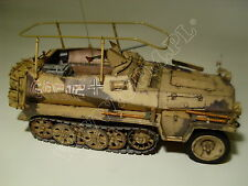 Sd.Kfz.250/3 GREIF 1/16 scale cardboard paper model kit 290x120x150mm 1583 parts