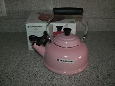 Le Creuset Pink Classic  Whistling Tea Kettle  1.7 Qt / 1.6 L  Brand New In Box
