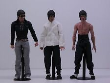 Hot Toys Bruce Lee dx04 dx 04 Enter The Dragon 3 figures set loose
