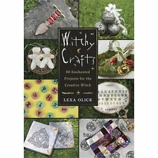 Witchy Crafts: 60 Creative Projects Craft Book Wiccan Pagan Library