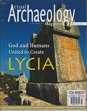 ACTUAL ARCHAEOLOGY UK Magazine Autumn 2013, God & Humans United to Create LYCIA.