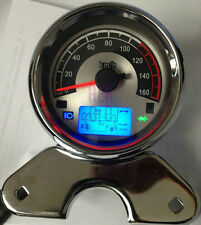 SS185 LCD Digital Speedometer Gauge Odometer for Prince Motorcycle FGU-78