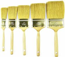 """NEW 5 Pack Set Professional Fine Ox Hair Paint Brushs 1"""" to 3"""""""