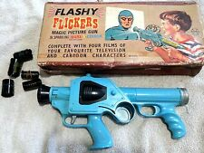 VINTAGE MARX FLASHY FLICKERS MAGIC PICTURE SPACE GUN PROJECTOR