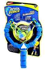 Pack of 2- Wham-O Aqua Force Slingshot + 50 Water Balloons Launcher & Tie Maker