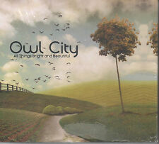 Owl City - All Things Bright and Beautiful CD NEU limited Box mit T-Shirt
