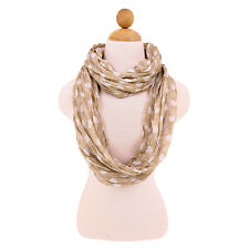 Premium Polka Dot Infinity Loop Circle Fashion Scarf - Different Colors Avail