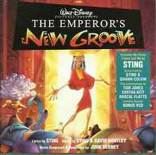 The Emperor's New Groove - Original Walt Disney Records Soundtrack        CD+VCD