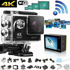 4K HD 1080P Waterproof WiFi SJ4000 DV Action Sports Camera Video Camcorder 2""