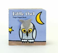 Little Owl Finger Puppet Book by Image Books (2011, Board Book)