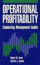 Operational Profitability: Conducting Management Audits-ExLibrary