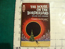 HIGH GRADE--paperback-ACE D-553 THE HOUSE ON THE BORDERLAND william hope hodgson