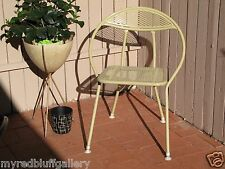 Mid Century Modern Folding Patio Chair Original Paint and Feet - Eames Era