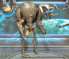 STAR WARS FIGURE ANIMATED CLONE WARS SUPER BATTLE DROID (HEAVY ASSAULT)