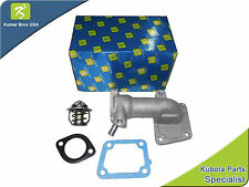 New Bobcat 325 Water Flange & Thermostat with Gaskets [SERIAL # BREAK]