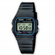 Casio F91W Classic Digital RETRO Sports Alarm Stopwatch Black Watch NEW