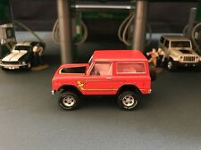 1977 Ford Bronco 4x4 Off Road Brick Red RARE 1/64 LIMITED EDITION DIECAST MODEL