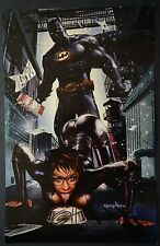 Batman Cat Woman Signed Greg Horn Print