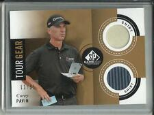 Corey Pavin 2013 SP Game Used Golf Tour Gear Dual Shirt #11/35