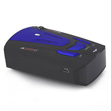RADAR LASER SPEED GUN DETECTOR CAR MOTORBIKE 16 BAND 360 DEGREE V7 B